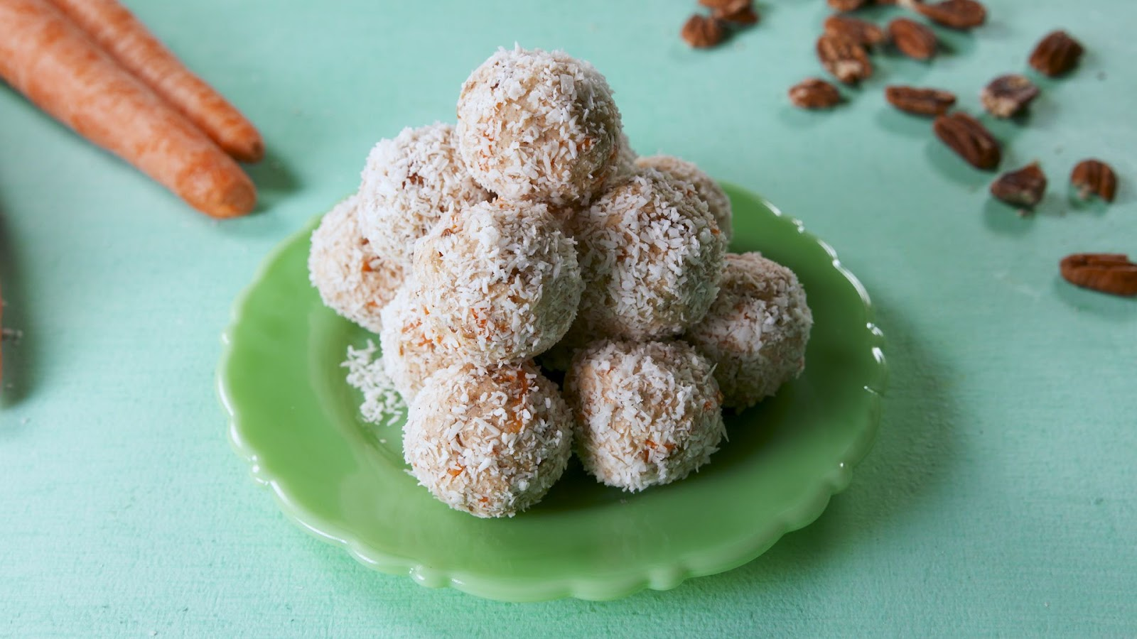 Carrot Cake Keto Balls