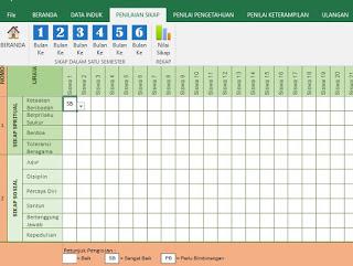 Aplikasi Penilaian Kurikulum 2013 SD MI Kelas 4 dan Kelas 5 Revisi 2017