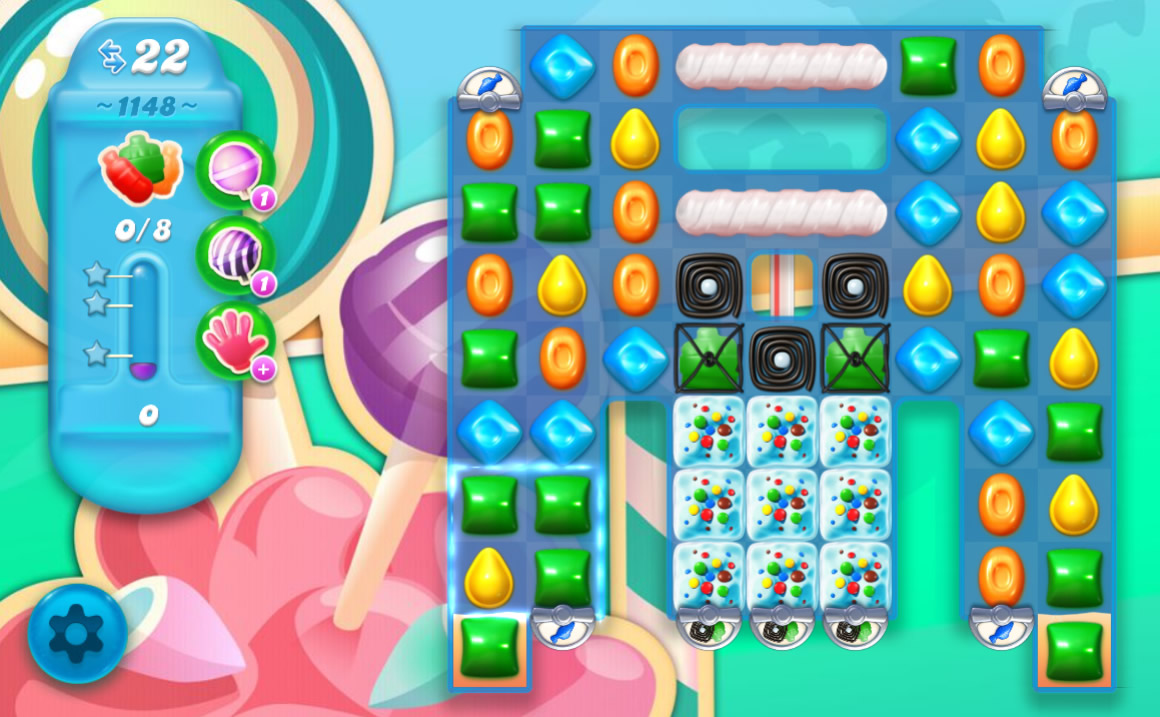 Candy Crush Soda Saga level 1148