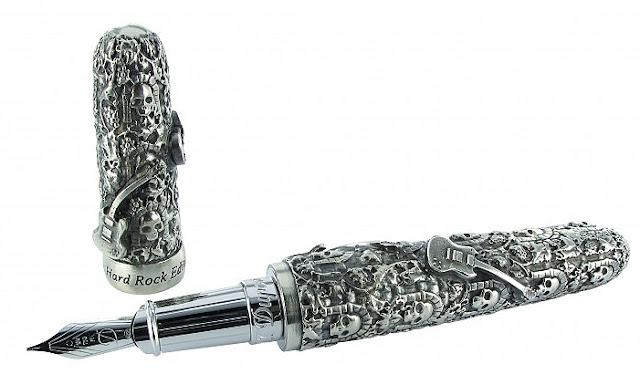 Hard Rock Catacombes fountain pen