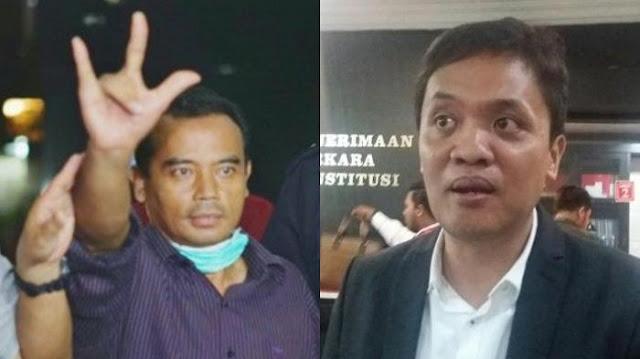 Bupati Purbalingga Ditangkap KPK, Habiburokhman Tulis Sajak Salam Metal (Mencuri Total)