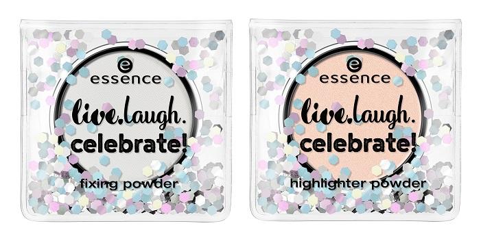 essence live laugh celebrate fixing powder