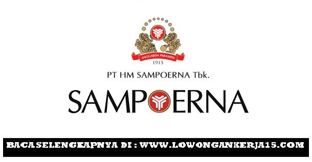 Rekrutmen Terbaru PT HM Sampoerna Tbk Tahun 2019