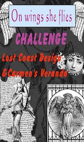 CHALLENGE #74 - ON WINGS SHE FLIES