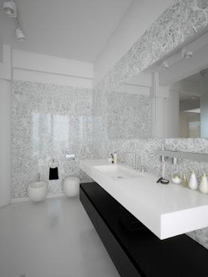 Design de Interiores Preto E  Branco