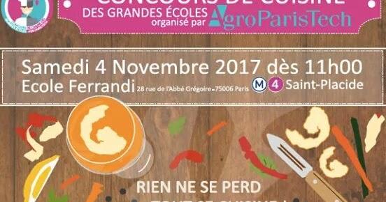 Positive eating positive living concours de cuisine des for Grande ecole de cuisine