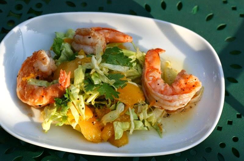 bushcooks kitchen mango limetten salat mit garnelen. Black Bedroom Furniture Sets. Home Design Ideas