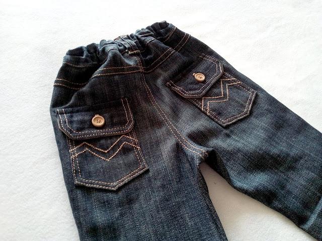 джинсы для малыша