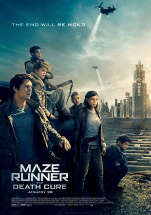 Maze Runner: The Death Cure 2018 English Movie Download 1080p