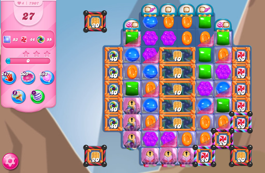 Candy Crush Saga level 7907