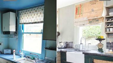 El  sorprendente antes y después de una vieja cocina (por menos de 1000€)