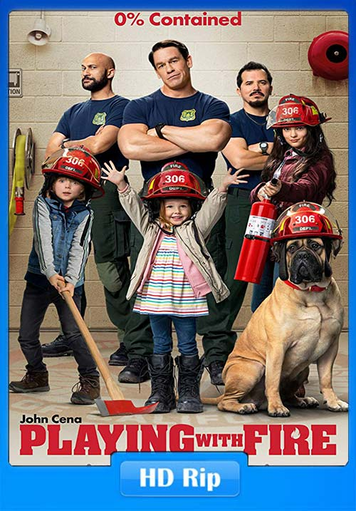 Playing With Fire 2019 720p WEBRip x264 | 480p 300MB | 100MB HEVC