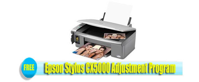 Epson Stylus CX5000 Adjustment Program