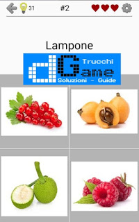 Soluzioni Frutti, verdure e noce livello 2