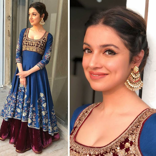 Divya Khosla Kumar in Anju Modi and Anmol Jewelers
