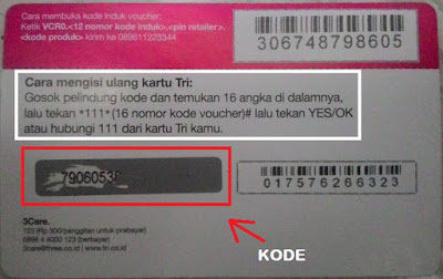 isi ulang paket internet 3 dengan voucher