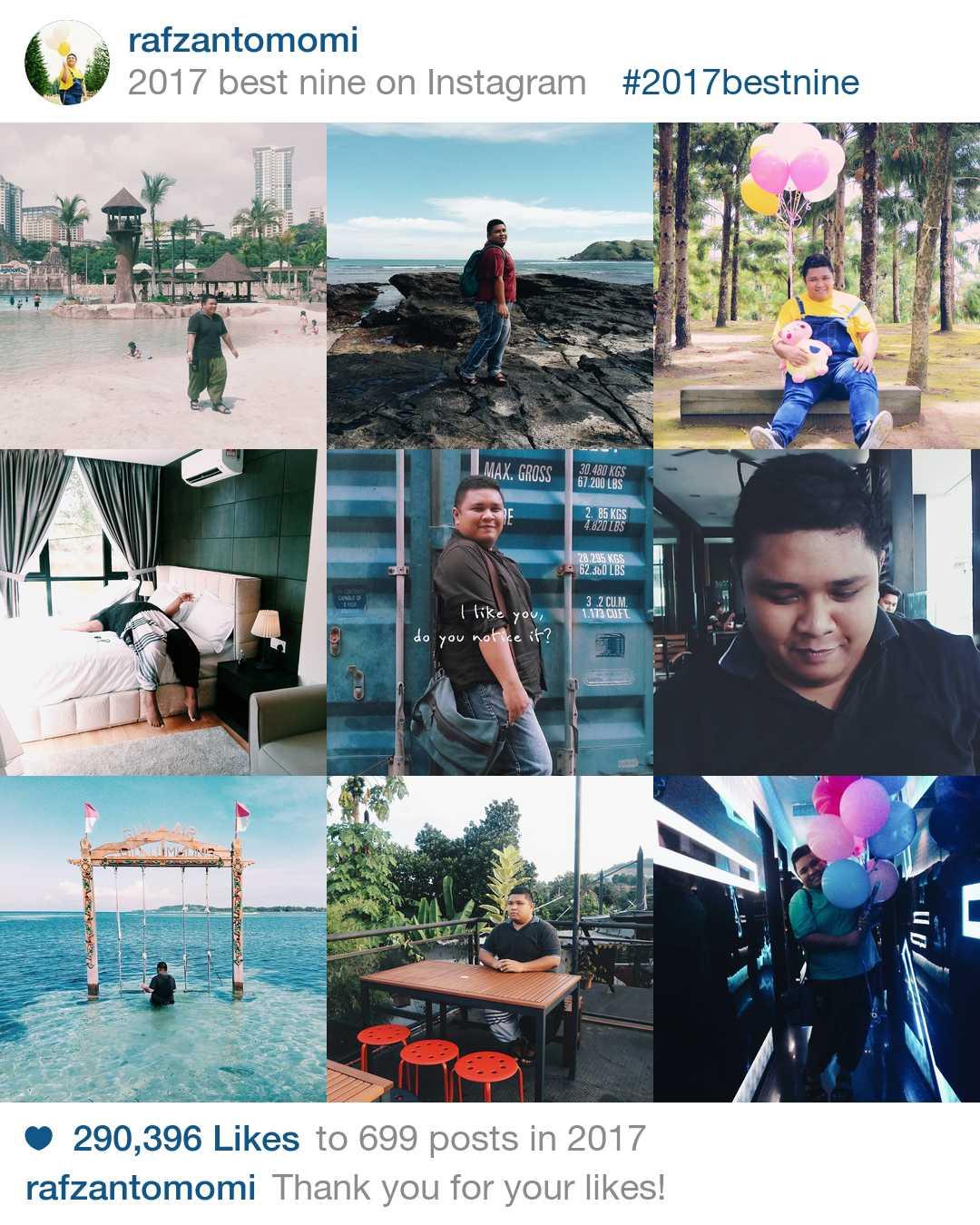 2017BESTNINE - 9 Foto Paling Popular Dalam Instagram Anda Untuk Tahun 2017
