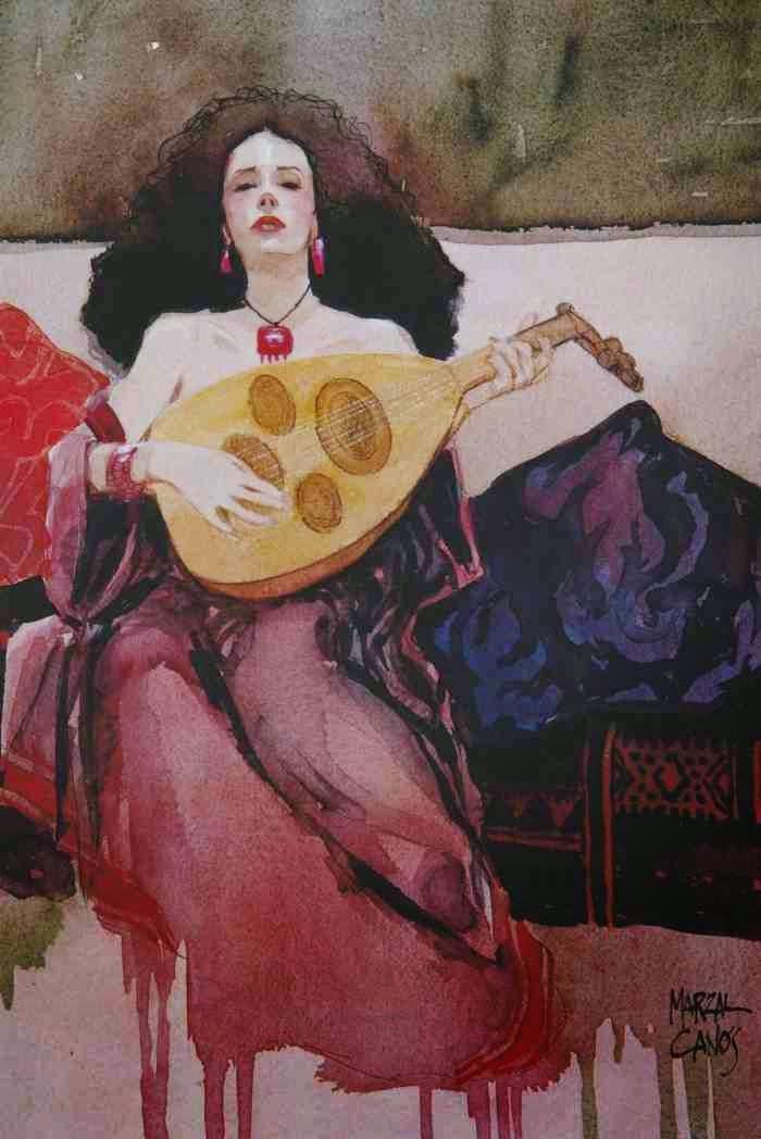 Испанский художник. Jaume Marzal Canos