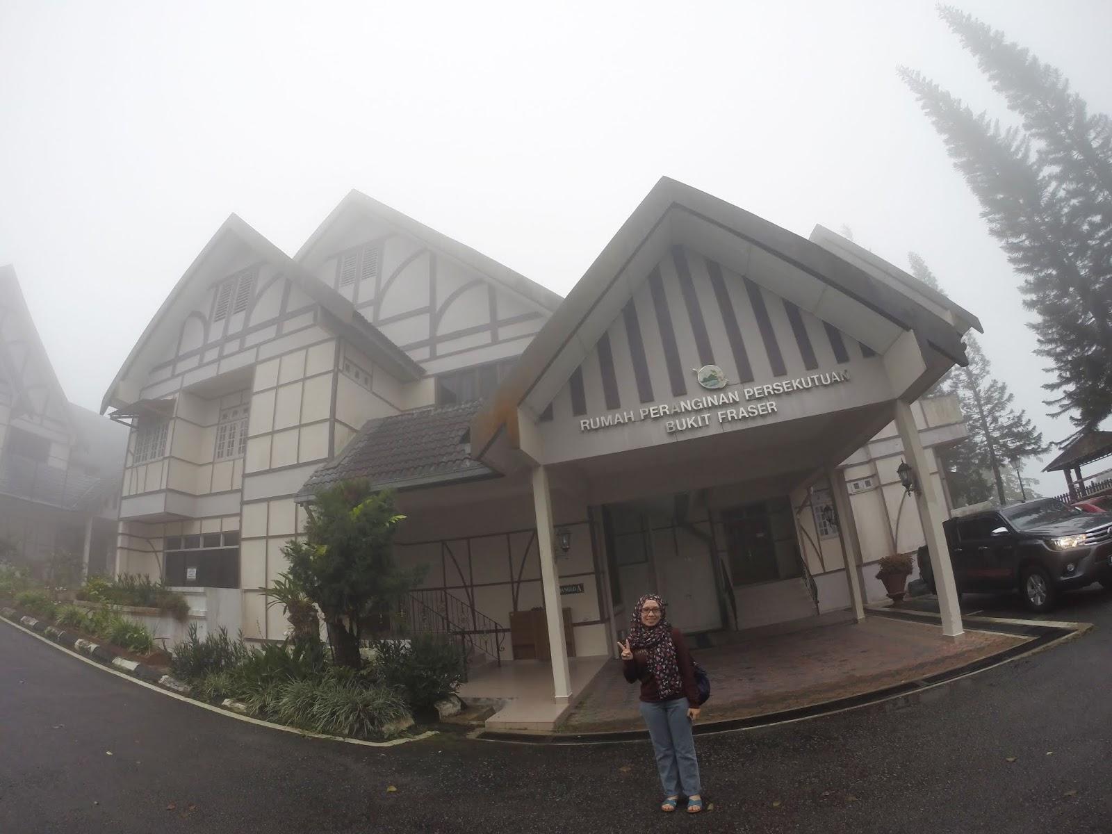 Scdha Sein Photo And Travel Kembara Pahang Rumah Peranginan Persekutuan Fraser Hills