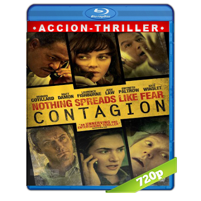 Contagio (2011) BRRip 720p Audio Trial Latino-Castellano-Ingles 5.1