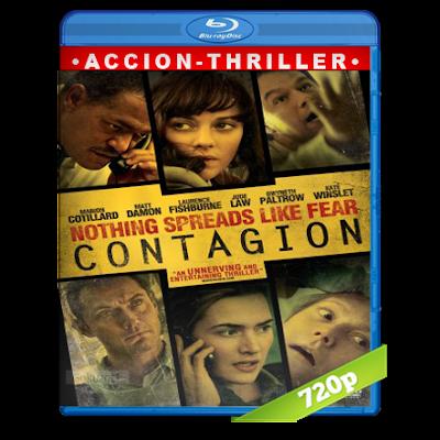 Contagio (2011) BRRip 720p Audio Trial Latino-Castellano-Ingles 5.1