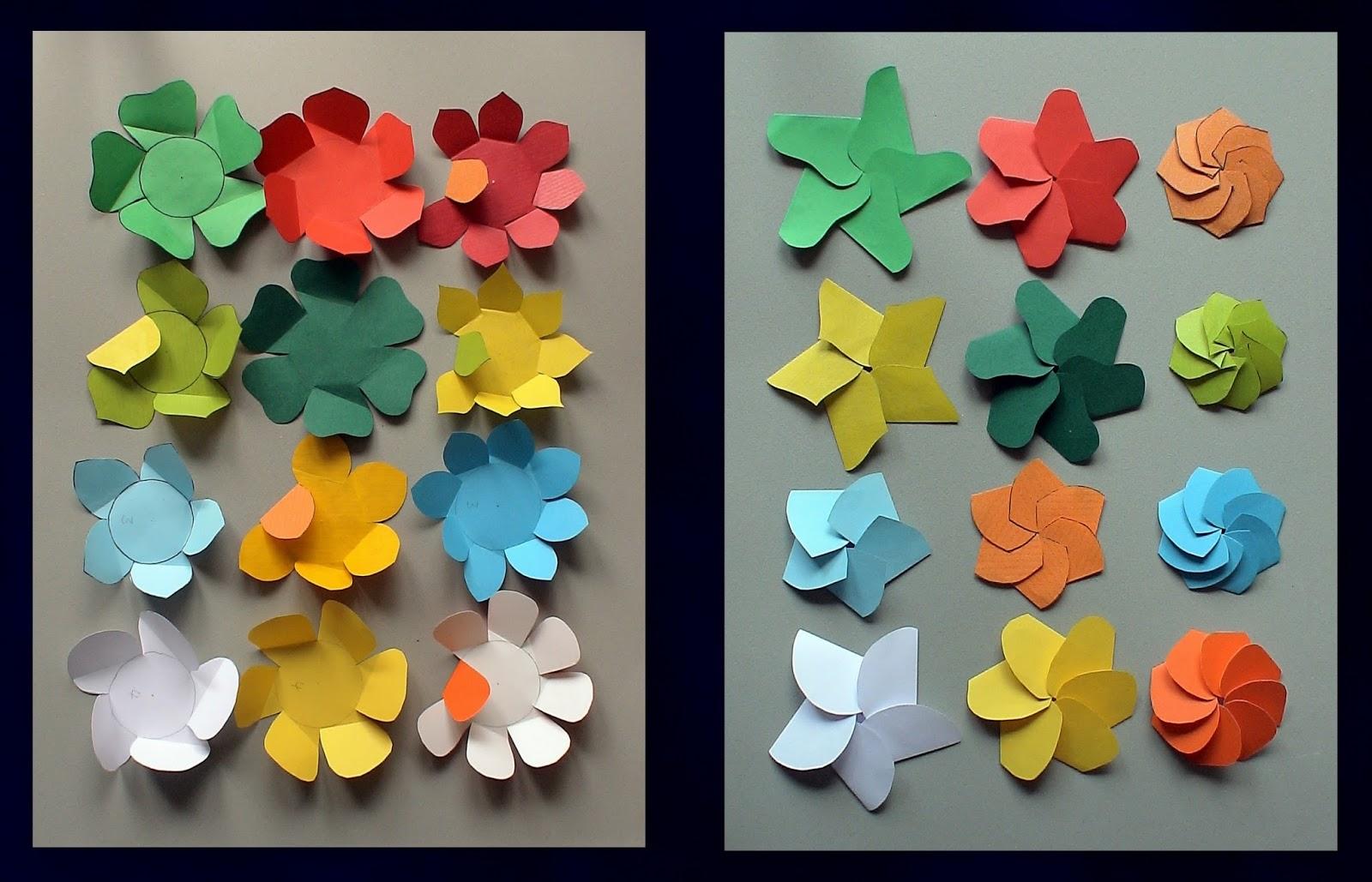 Grosse Blumen Aus Papier Basteln Anleitung Ostseesuche Com