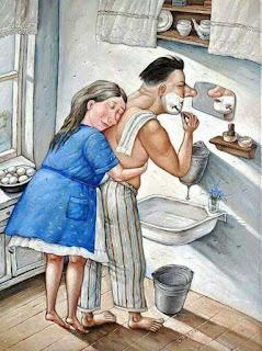 Una linda reflexión y una verdadera historia de amor