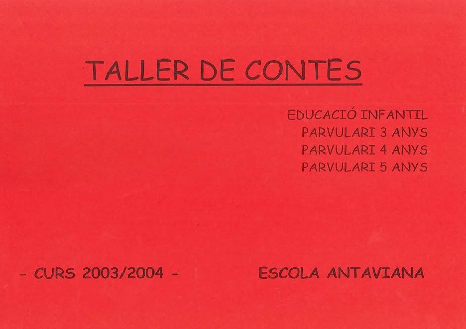 http://issuu.com/blocsdantaviana/docs/dossier_sencer_contes_2003-04
