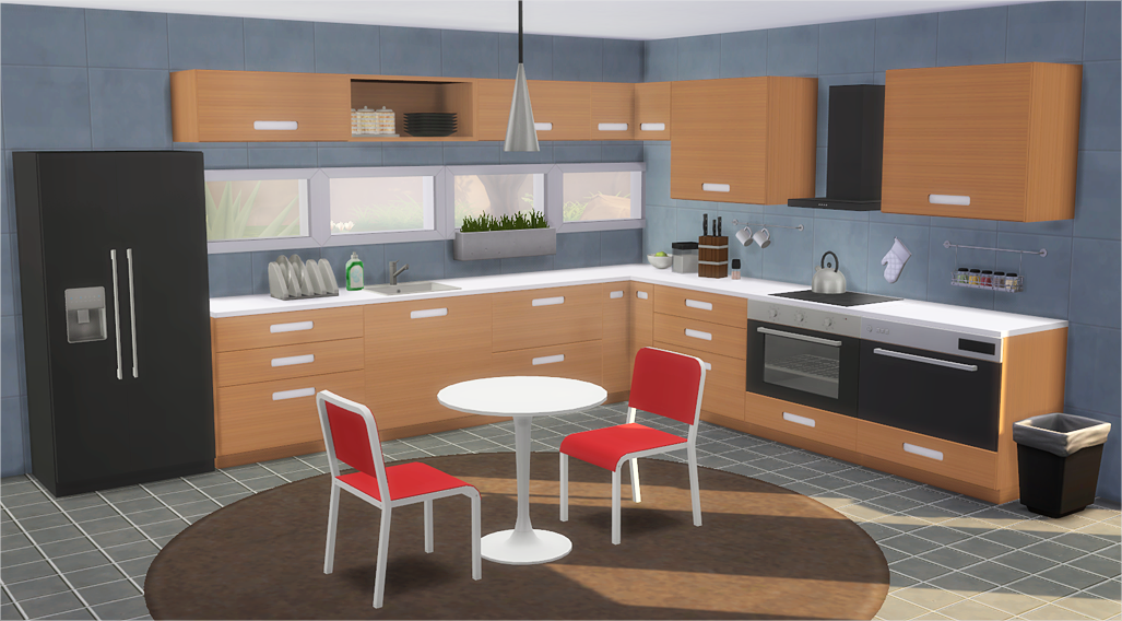 my sims 4 blog ikea inspired m rsta kitchen by veranka. Black Bedroom Furniture Sets. Home Design Ideas