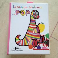 le croque-couleurs de POP - Un jeu Ecole des Loisirs