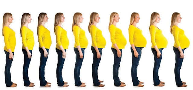 أبرز التغيرات في جسم المرأة أثناء الحمل