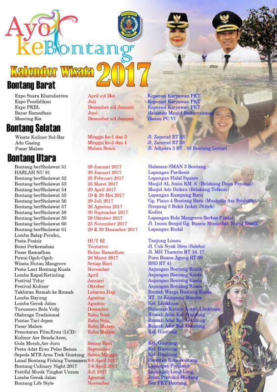 Kalender Wisata Bontang 2017