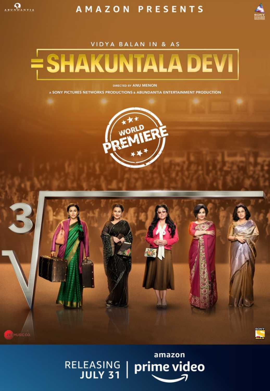 Shakuntala Devi 2020 Hindi 720p HDRip Full Movie Free Download