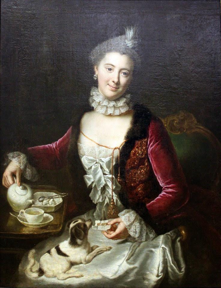 Portrait of a Woman (1761), Anna Rosina de Gasc