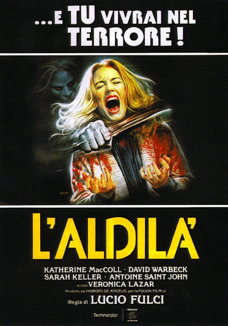 The Beyone Lucio Fulci 1981 horror movie poster