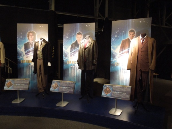 Eighth through Tenth Doctor Who outfits