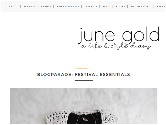 blog | new design | more details on my blog http://junegold.blogspot.de | life & style diary from hamburg