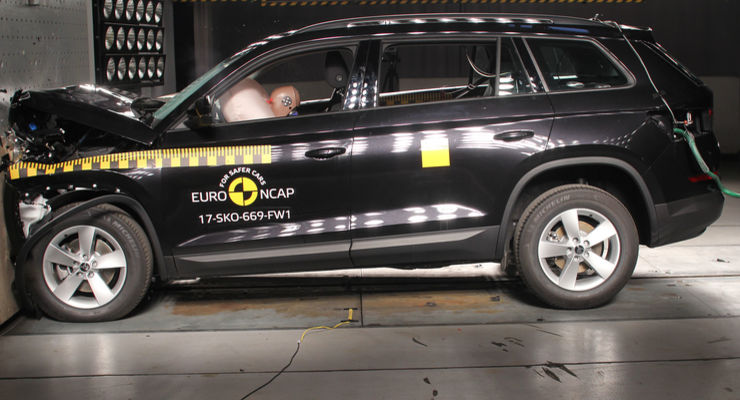 EURONCAP CRASH TEST 2017