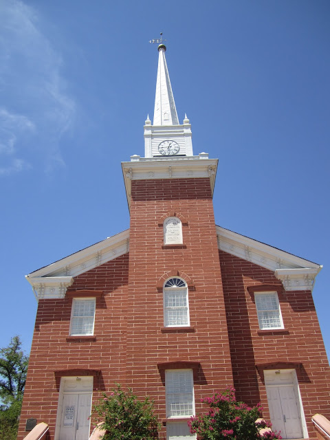 St. George historic tabernacle from the front