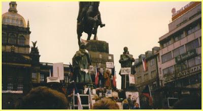 Revolución de Terciopelo en Praga
