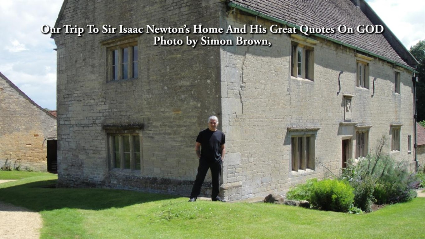 Our Trip To Sir Isaac Newton's Home.