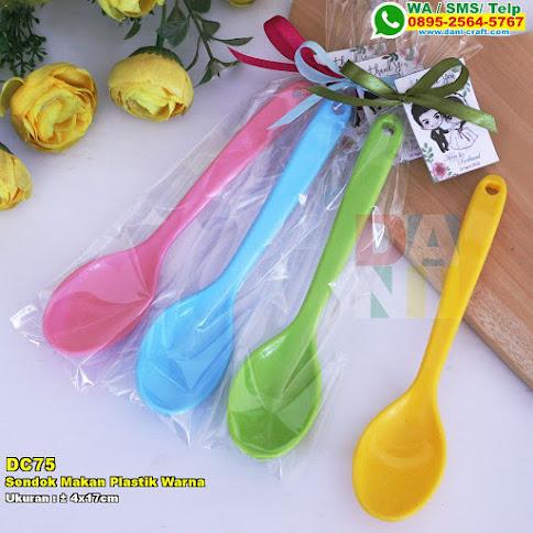 Sendok Makan Plastik Warna