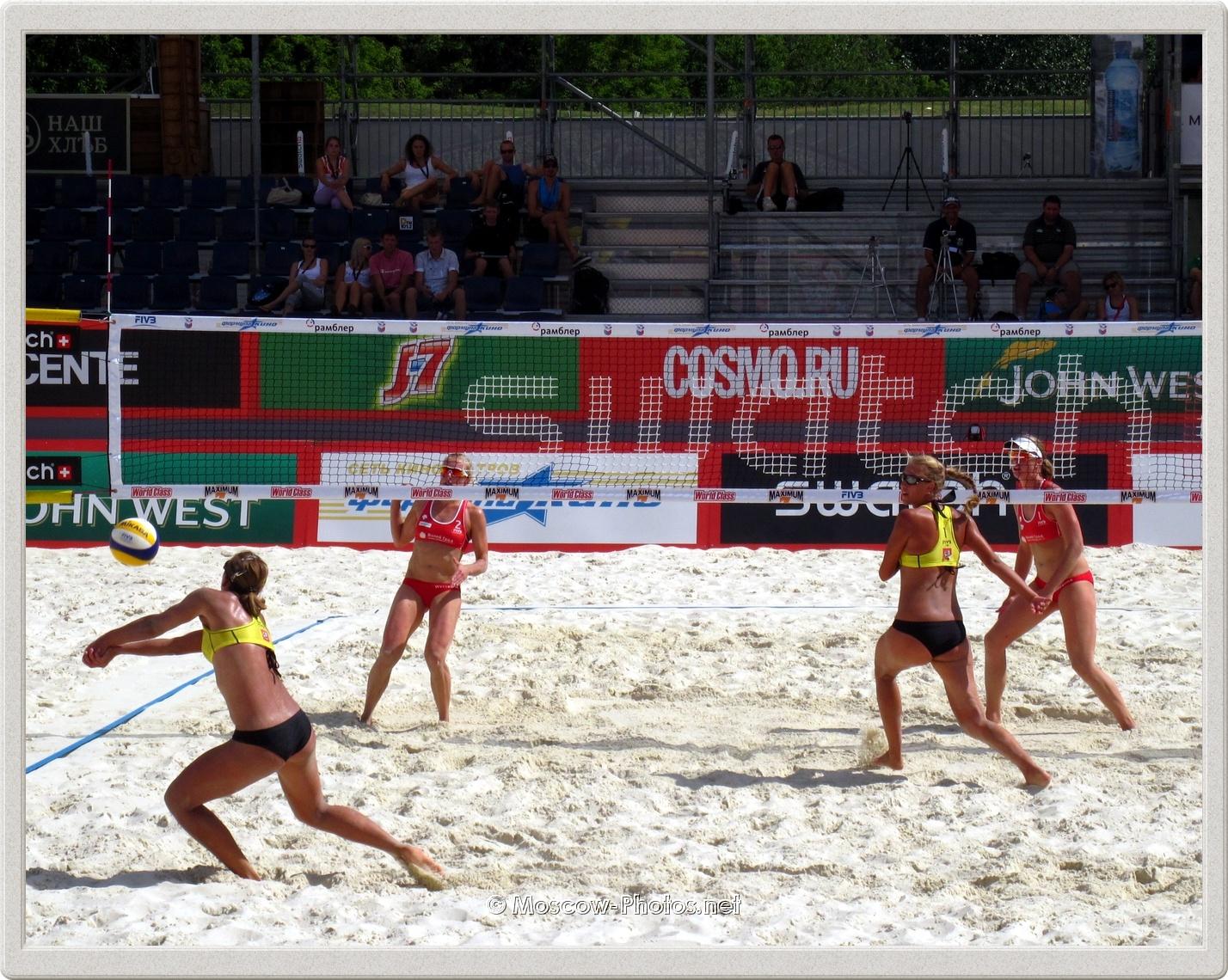 Beach Volleyball Moscow Grand Slam 2011