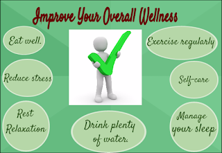 wellness strategies, holistic approach, diet, sleep, exercise, rest, water, stress self-care