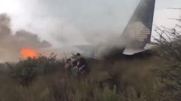 Δείτε βίντεο-σοκ μέσα από το αεροπλάνο την ώρα που συντρίβεται στο Μεξικό (βίντεο)