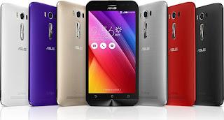 Harga dan Spesifikasi Hp Asus Zenfone 2 Laser - 16 GB