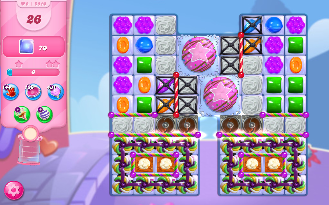 Candy Crush Saga level 5810