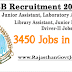 JKSSB Recruitment 2017-18 : 3450 Jobs Opening Apply Online