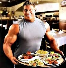 Comer igual pesas día descanso