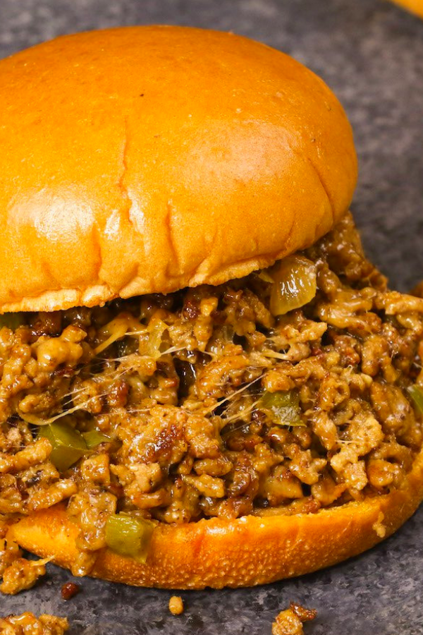 Philly Cheese steak Sloppy Joes Recipes